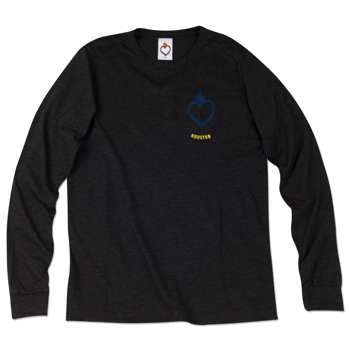 House of Blues Guitar Ring Long Sleeve Tee - Houston