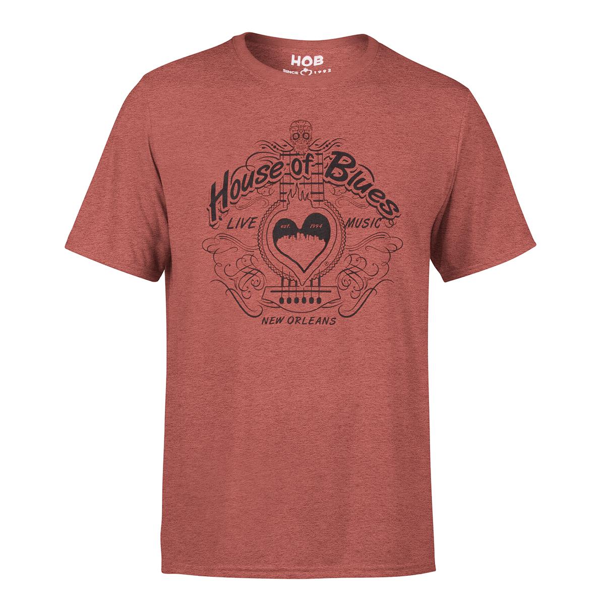 Swirl Shirt - New Orleans