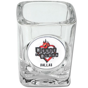 House of Blues Square Shotglass - Dallas