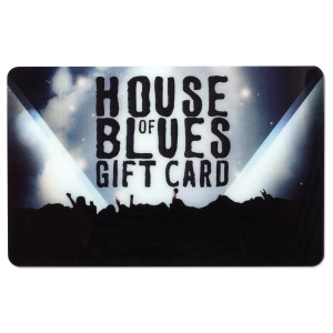House of Blues $100 Gift Card (Club Only)