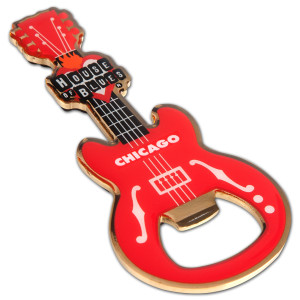 Guitar Bottle Opener - Chicago