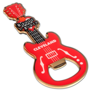 Guitar Bottle Opener - Cleveland