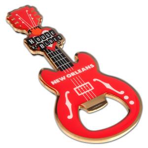 Guitar Bottle Opener - New Orleans