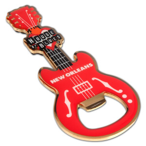 Guitar Bottle Opener - New Orleans