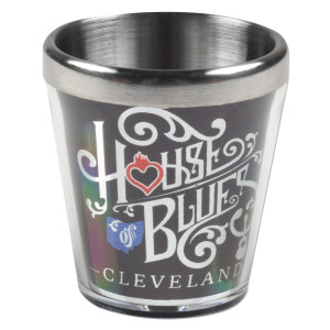 Wrapped Home Shot Glass - Cleveland