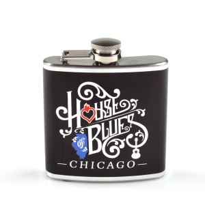 Wrapped Home Hip Flask - Chicago