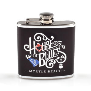 Wrapped Home Hip Flask - Myrtle Beach