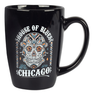 Sugar Skull Mug - Chicago