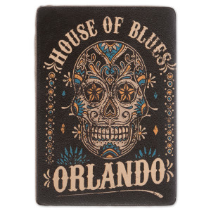 HOB Leather Magnet - Skull Orlando