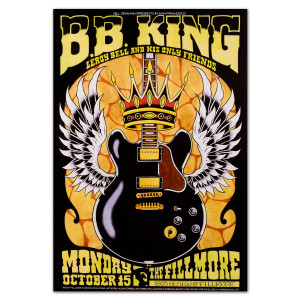 Fillmore - BB King 10/15/2007 Poster