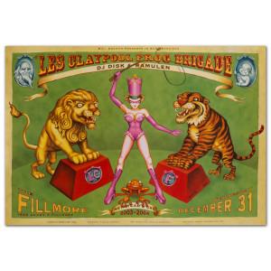 Fillmore - Les Claypool Frog Brigade 12/31/2003 Poster