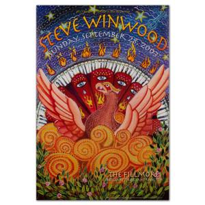 Fillmore - Steve Winwood 9/28/2003 Poster