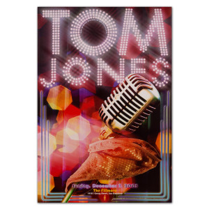 Fillmore - Tom Jones 12/7/2003 Poster
