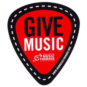 Music Forward Foundation Sticker