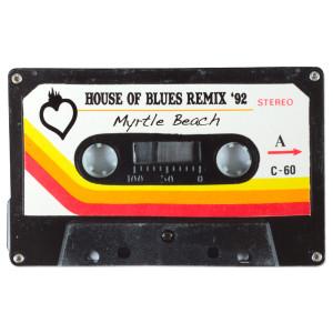 Cassette Tape Sticker - Myrtle Beach