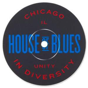 Record Label Sticker - Chicago