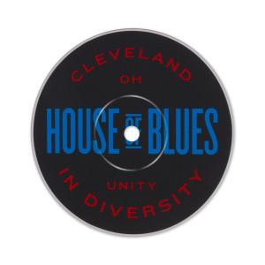 Record Label Sticker - Cleveland