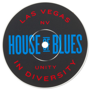 Record Label Sticker - Las Vegas
