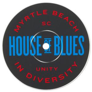 Record Label Sticker - Myrtle Beach