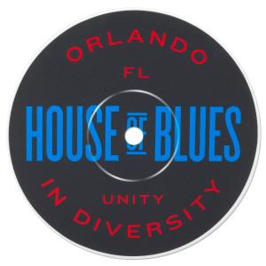 Record Label Sticker - Orlando