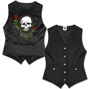 House of Blues Skull Vest