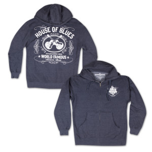 House of Blues World Famous Zip Hoodie