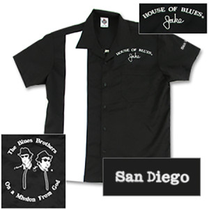 House of Blues Jake Bowling Shirt - San Diego