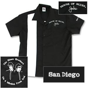 House of Blues Jake Bowling Shirt - San Diego