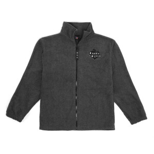 Grey Zip Fleece