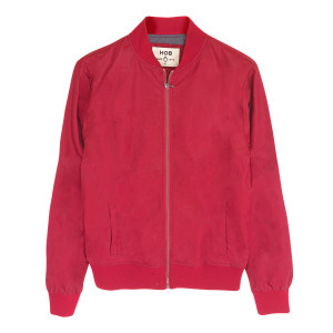 Bomber Red Jacket