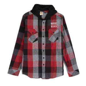 Red Flannel Hoodie