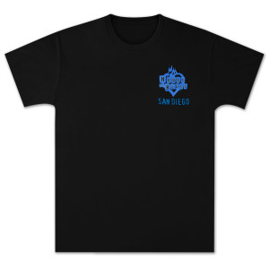 House of Blues Star Guitar T-Shirt - San Diego