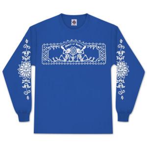 HOB Blue Drinkers Longsleeve T-Shirt