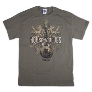 Lions Guitar T-Shirt - Orlando
