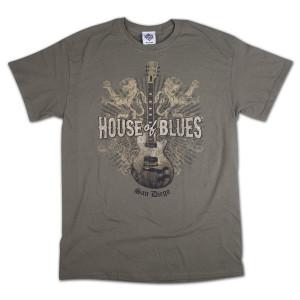 Lions Guitar T-Shirt - San Diego
