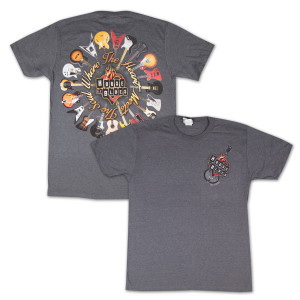 House of Blues Guitar Ring T-Shirt - Las Vegas