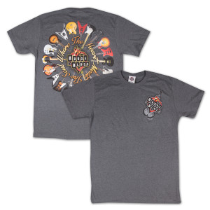 House of Blues Guitar Ring T-Shirt - Dallas