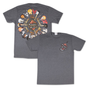 House of Blues Guitar Ring T-Shirt - Chicago