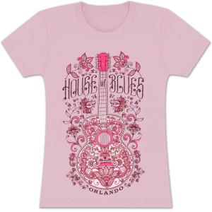 Henna Guitar Women's T-Shirt