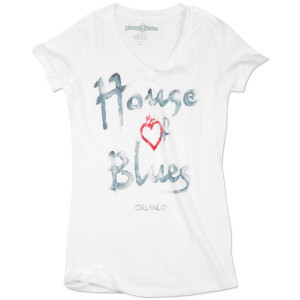 House of Blues Watercolor Shirt - Orlando
