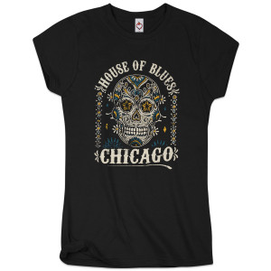Sugar Skull Women's Tee - Chicago