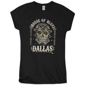 Sugar Skull Women's Tee - Dallas