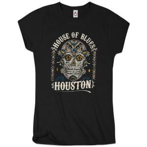 Sugar Skull Women's Tee - Houston
