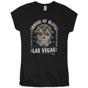 Sugar Skull Women's Tee - Las Vegas