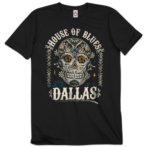 Sugar Skull Unisex Tee - Dallas