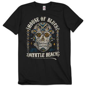 Sugar Skull Unisex Tee - Myrtle Beach