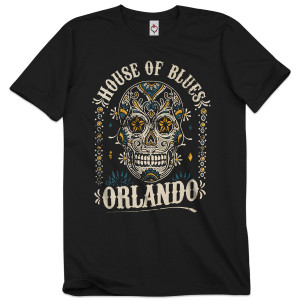 Sugar Skull Unisex Tee - Orlando