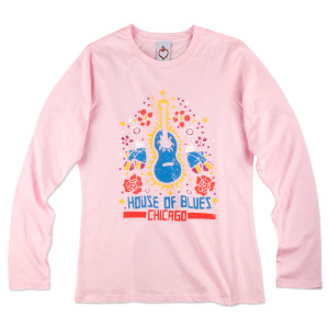 Guitar De Guadalupe Women's Tee - Chicago
