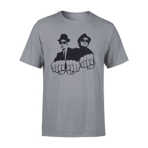 Elwood & Jake Knuckles Grey T-Shirt