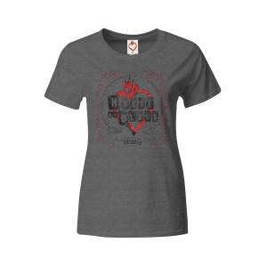 Grey Heart Logo T - Orlando